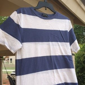 Striped Polo RL Tee